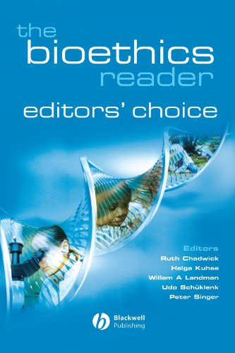 The Bioethics Reader: Editors' Choice (Best Singers Of The Decade)