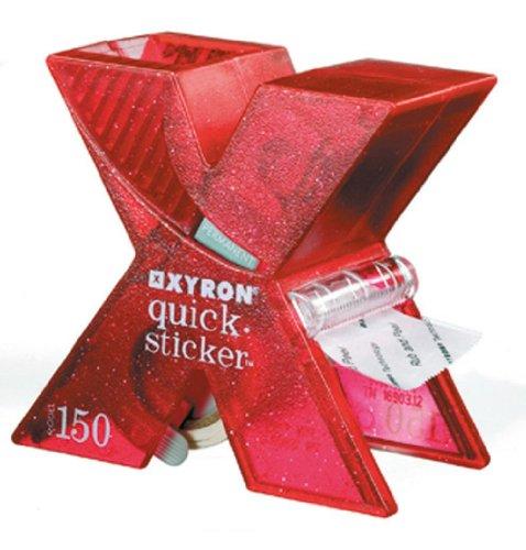 Xyron 18094633 - quicksticker X150 Sticker Maker, rot