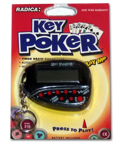 (Key Poker, Electronic Hand Held Game By Radica: Model 310)
