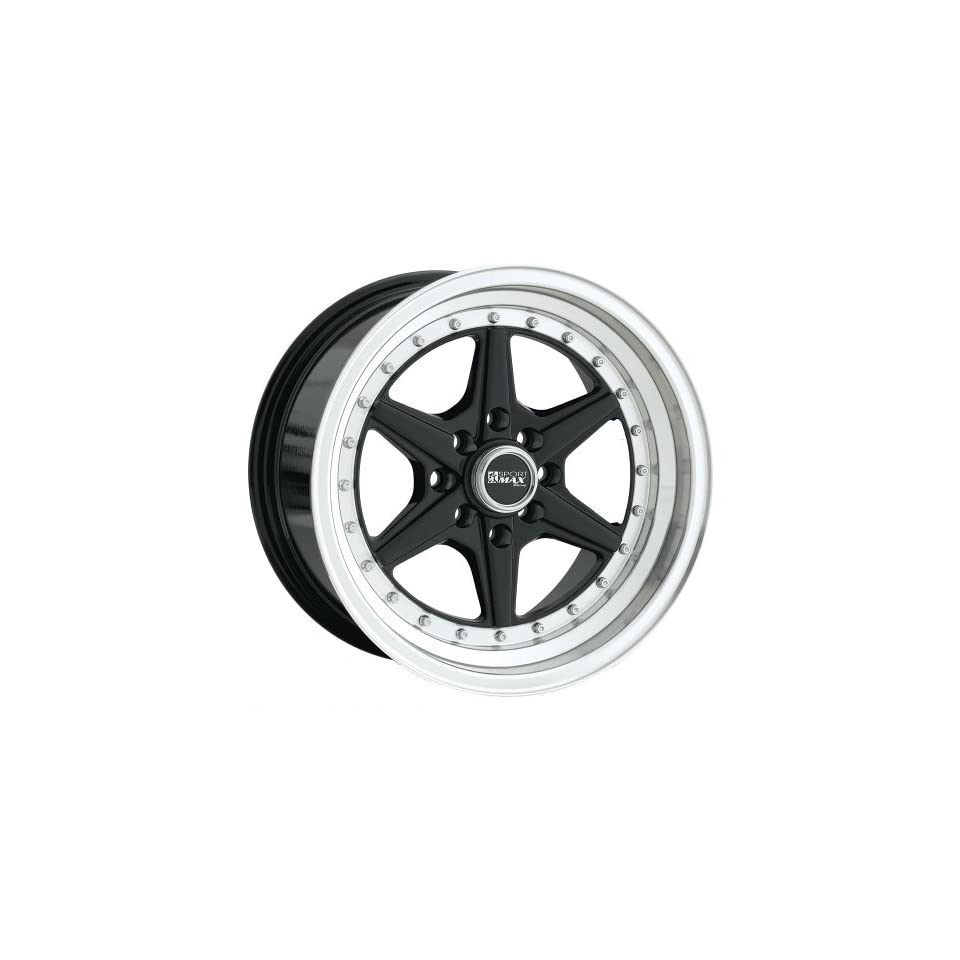 XXR 501 15 Black Wheel / Rim 4x100 & 4x4.5 with a 15mm Offset and a 73.1 Hub Bore. Partnumber 50158082