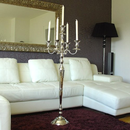 Kerzenleuchter 120cm 5-flammig BIG Version ! EVENTLEUCHTER LUXUS-Version auch für Stumpenkerzen von DEKOWELTEN