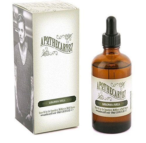 Price comparison product image Apothecary 87, 1893 Hydrating and Healing Shaving Oil - Sandalwood and Vanilla, 86g (3 Oz)