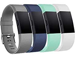 Tobfit Sport Bands Compatible with Fitbi...