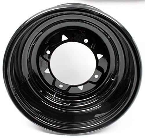 Polaris Ranger Front Rear Wheel Rim 12x6 Black 10 Gauge 1520796-067 New OEM ()