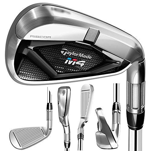 TaylorMade Golf- 2018 M4 Irons 5-PW Regular Flex Graphite Fujikura Atmos Red 6