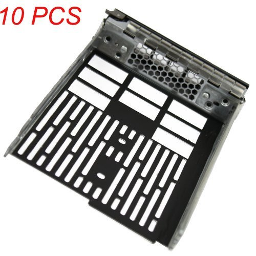 (10 Pack) 3.5'' SAS Hard Drive Tray Caddy for Dell F238f for Dell Poweredge R610 R710 T610 T710