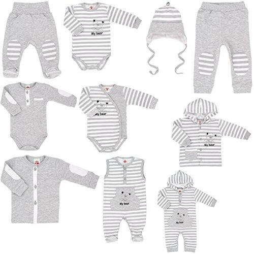 new product bf368 da513 MAKOMA Baby Erstlingsausstattung Set -My Bear- 10tlg. Gr. 68 ...