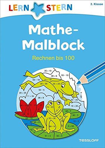 Mathe-Malblock  2. Klasse. Rechnen bis 100