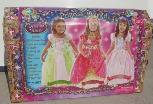 Girls Princess Wonderland Dress up Chest - With Everything You ...