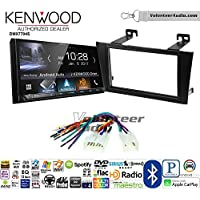 Volunteer Audio Kenwood DMX7704S Double Din Radio Install Kit with Apple CarPlay Android Auto Bluetooth Fits 2000-2004 Non Amplified Toyota Avalon