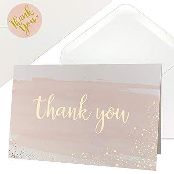 Amazon.com: Tarjetas de agradecimiento para baby shower ...