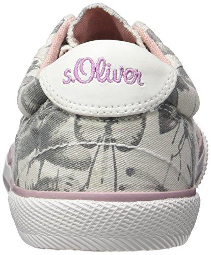 s.Oliver 53211, Zapatillas Para Niños Gris (LT GREY COMB 295)