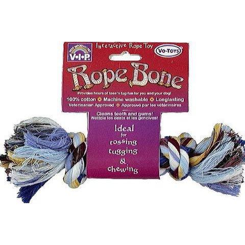 Multi-color Rope Chew Bone   Small   80G