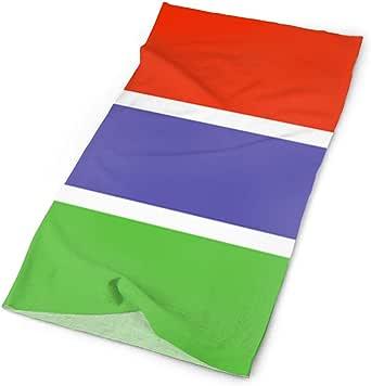 Gambia Flag Versatile Face Masks Casual Balaclava Headwear