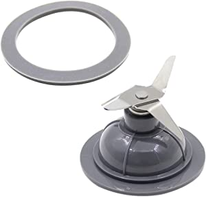 Veterger Replacement Parts Blade with Gasket,Compatible with Black&Decker Blender 14291600, BL1900, BL3900, BL4900, BL5000, BL5900, BL6000, BL9000