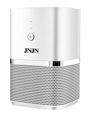JNJN KJ55F-DD05 5-in-1 Air Purifier with True HEPA Filter, Antibacterial Filter, Carbon Filter, UV Light, Ion Module, Desktop Air Purifier