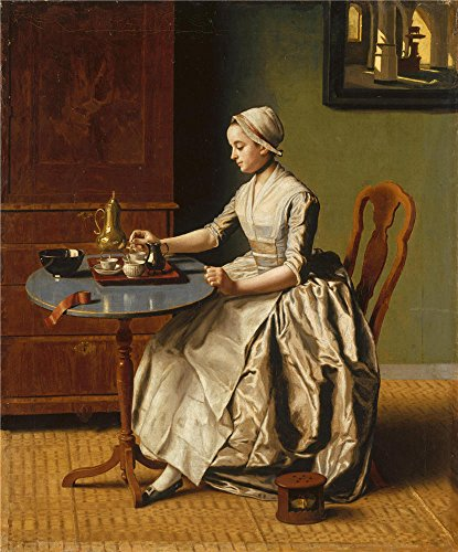 Original 11th Doctor Costume ('Jean Etienne Liotard A Lady Pouring Chocolate (La Chocolatiere) ' Oil Painting, 8 X 10 Inch / 20 X 24 Cm ,printed On Perfect Effect Canvas ,this Cheap But High Quality Art Decorative Art Decorative Canvas Prints Is Perfectly Suitalbe For Kitchen Gallery Art And Home Artwork And Gifts)