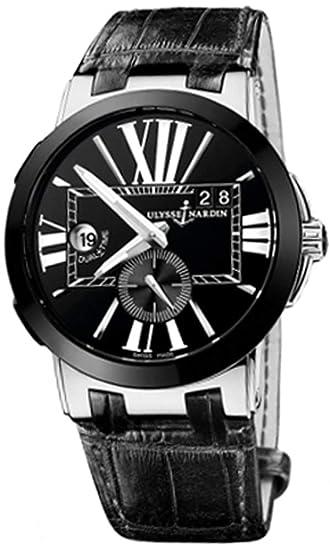 Ulysse Nardin Ejecutivo dual tiempo para hombre reloj 243 – 00/42
