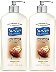 Suave Smoothing Body Lotion with Cocoa Butter & Shea...