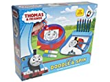 THOMAS & FRIENDS 2 IN 1 DOODLE & SPIN KIDS CHILDRENS BOYS ARTS AND CRAFT TOY GIFT