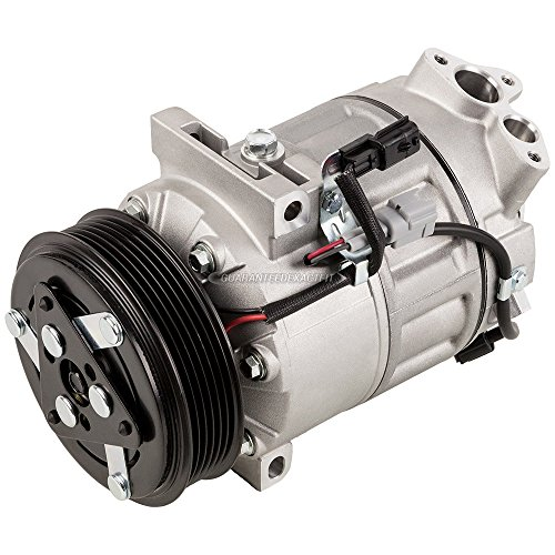 AC Compressor & A/C Clutch For Nissan Sentra 2013 2014 2015 - BuyAutoParts 60-03816NA New