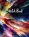 Sketch Book: Notebook for Drawing, Writing, Painting, Sketching or Doodling, 120 Pages, 8.5x11 (Premium Abstract Cover vol.3)