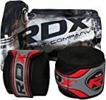 Authentic RDX Pro Hand Wraps Bandages Black,Red,Blue,Pink,Yellow, Camo Boxing Gloves, MMA UFC by RDX