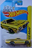 2014 Hot Wheels 72' Ford Ranchero Yellow 134/250 HW Off-Road HW Hot Trucks