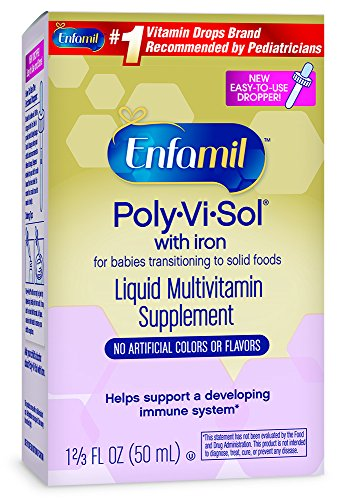 Enfamil Poly Vi Sol Liquid Multivitamin Supplement 50 mL