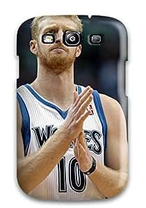 DanRobertse CiPonYD1834SHAkC Case For Galaxy S3 With Nice Minnesota Timberwolves Nba Basketball (32) Appearance