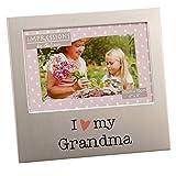 Oaktree Gifts I love My Grandma Aluminium Photo Frame 4 x 6