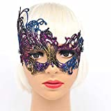 Face mask Shield Veil Guard Screen Domino False Front Antique Gold-Plated Lace mask mask Makeup Dance Party Show mask Movie Show Wedding Props Color