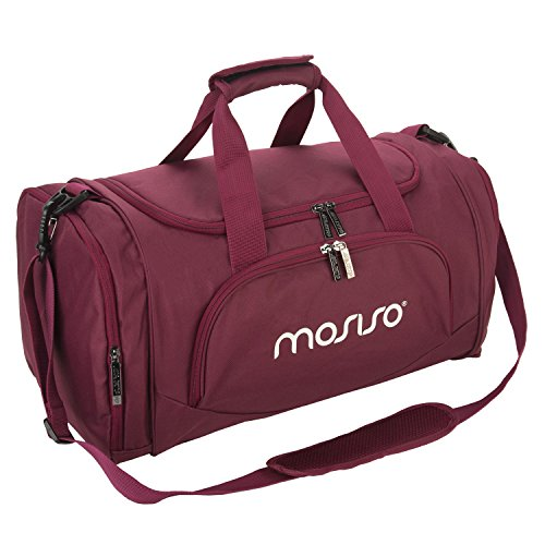 Mosiso Canvas Duffels Athletic Shoulder