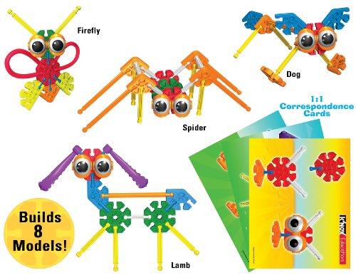 51TkGVSLPyL - K'NEX Education - Kid K'NEX Group Building Set - 131 Pieces - Ages 3+ - Preschool Educational Toy