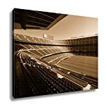 Ashley Canvas Wide View Of Fc Barcelona Nou Camp Soccer Stadium, Wall Art Home Decor, Ready to Hang, Sepia, 16x20, AG5599282