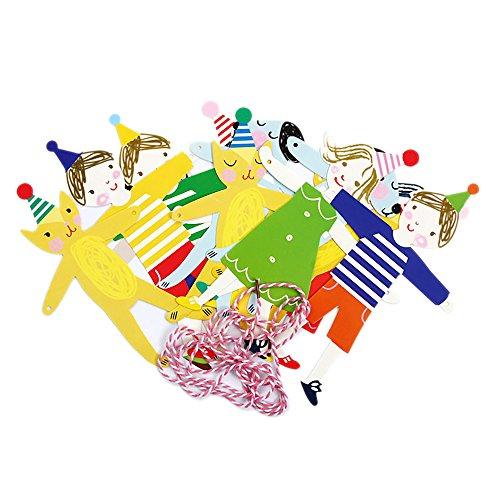 AYUQI Hanging Birthday Party Decoration Kit Colorful Paper Fans Hanging Party Decoration Set Home Decoration Set of BirthdayParty Supplies Favors(Pink) by AYUQI (Image #4)