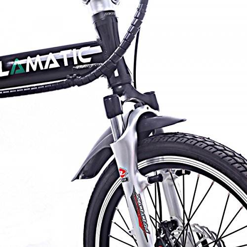 Buy Cyclamatic CX4 Pro Dual Suspension Foldaway E-Bike Electric Bicycle Black (online)