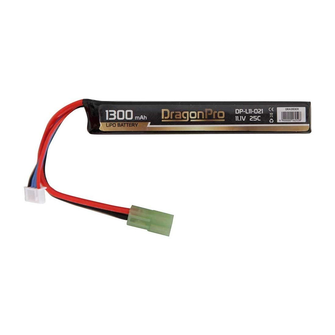 DRAGONPRO DP-L11-021 11.1V 1300mAh 25C LiPO 116x17x22mm