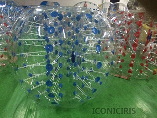 iconiciris Inflatable Bumper Bubble Balls Body Zorb Ball Soccer Bumper Football Human Hamster Ball...