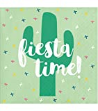 Cactus Fiesta Pack of 20 Paper Lunch Beverage Napkins Cacti