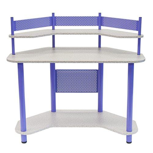 Calico Designs 55121 Study Corner Desk, Purple