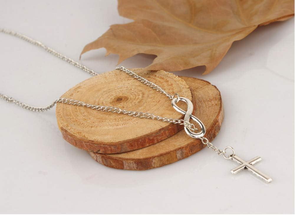 8 Cross Pendant Necklace Necklace Woman Perfect Matching Accessories NFRADFM Auspicious No