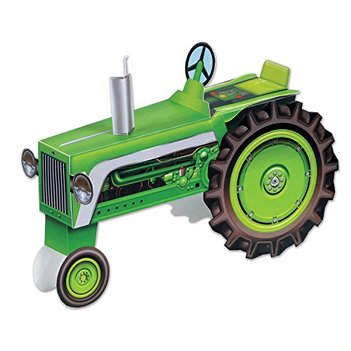 Beistle 54525 Tractor Centerpiece, 8.5