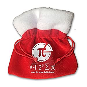 I Ate Some Pie And It Was Delicious Red Velvet Drawstring Pouches Jewelry Gift Bags 15cm X 15cm