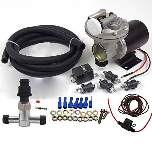 Dracarys Electric Brake Vacuum Pump Kit for Booster 28146 (28146 Electric Vacuum Pump Kit) (Power Brake Booster Vacuum)