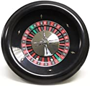 Brybelly GROU-001 Premium Bakelite Roulette Wheel with 2 Roulette Balls (18-Inch)
