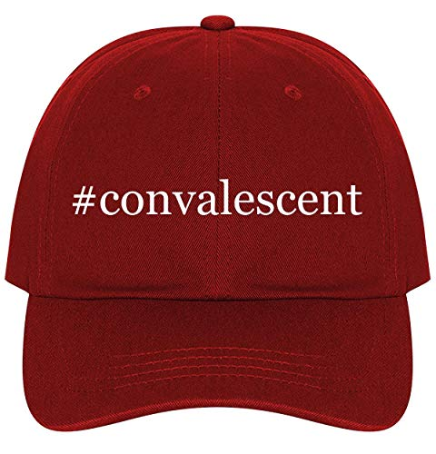 #Convalescent - A Nice Comfortable Adjustable Hashtag Dad Hat Cap, Red, One Size
