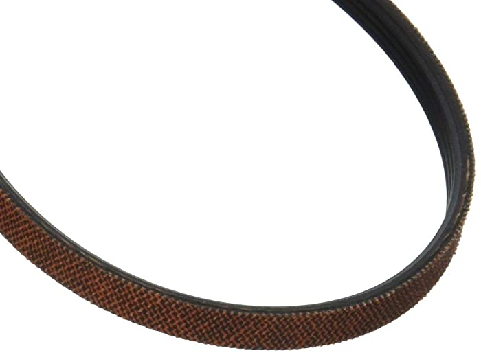 661570 Dryer Drum Belt Replacement for Whirlpool & Kenmore Dryers by PartsBroz - Replaces Part Numbers 661570V, AP5983729, 3387610, 3389728, 3393999, 339728, 661570VP