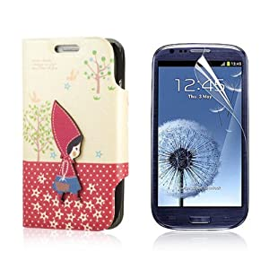 flip pu leather case cover for samsung galaxy. Black Bedroom Furniture Sets. Home Design Ideas
