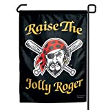 "MLB Pittsburgh Pirates Raise the Jolly Roger Garden Flag, 11""x15"", Team Color"